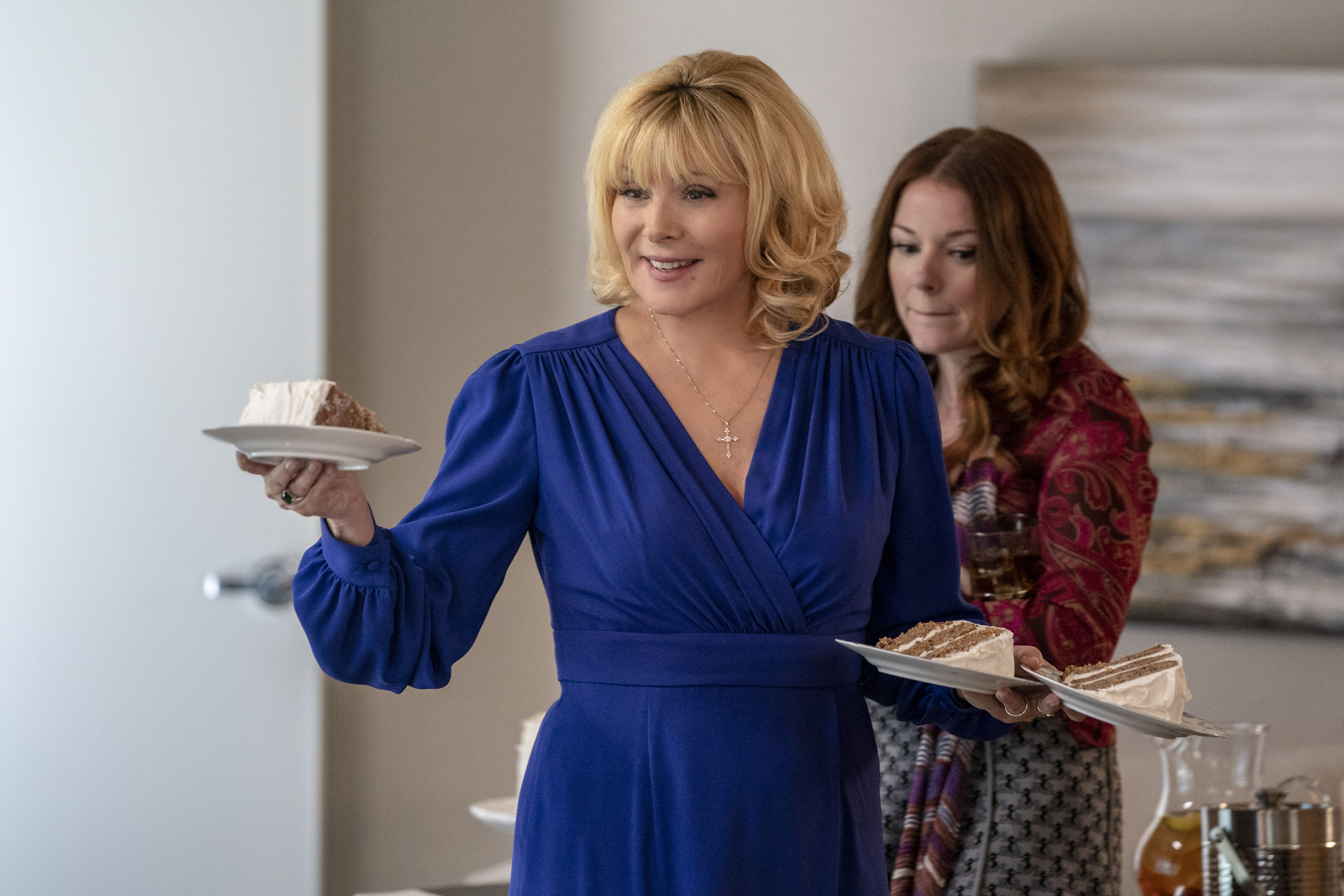 When will Kim Cattrall's new series Filthy Rich premiere on FOX?