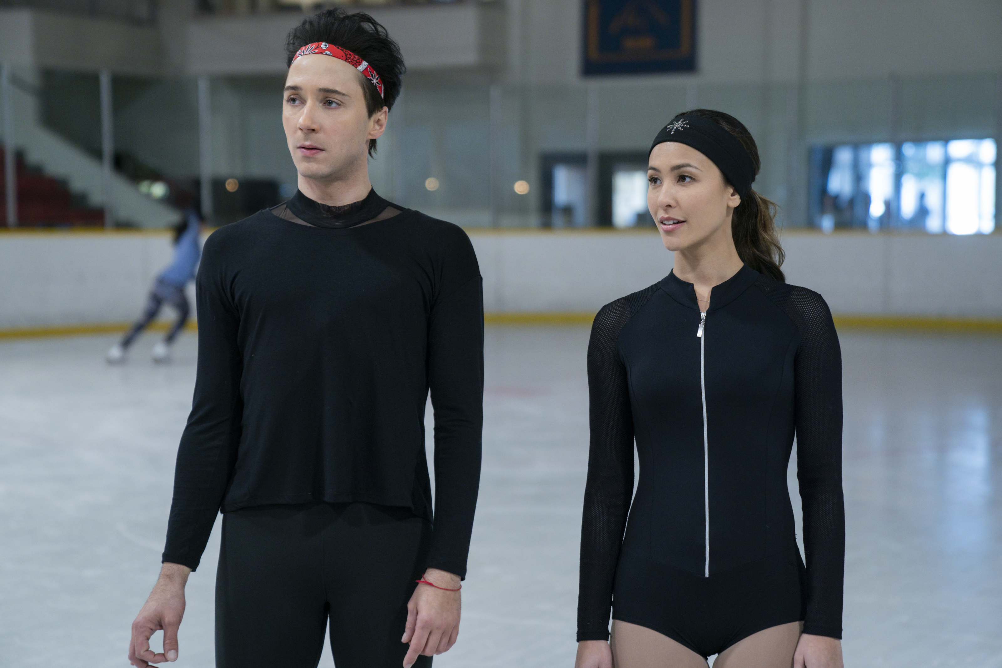 Spinning Out on Netflix fails figure skating, but gets Johnny Weir right