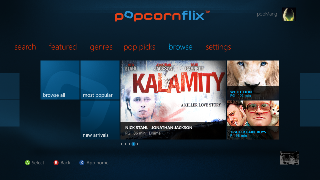 Popcornflix Press Release and Movie Options
