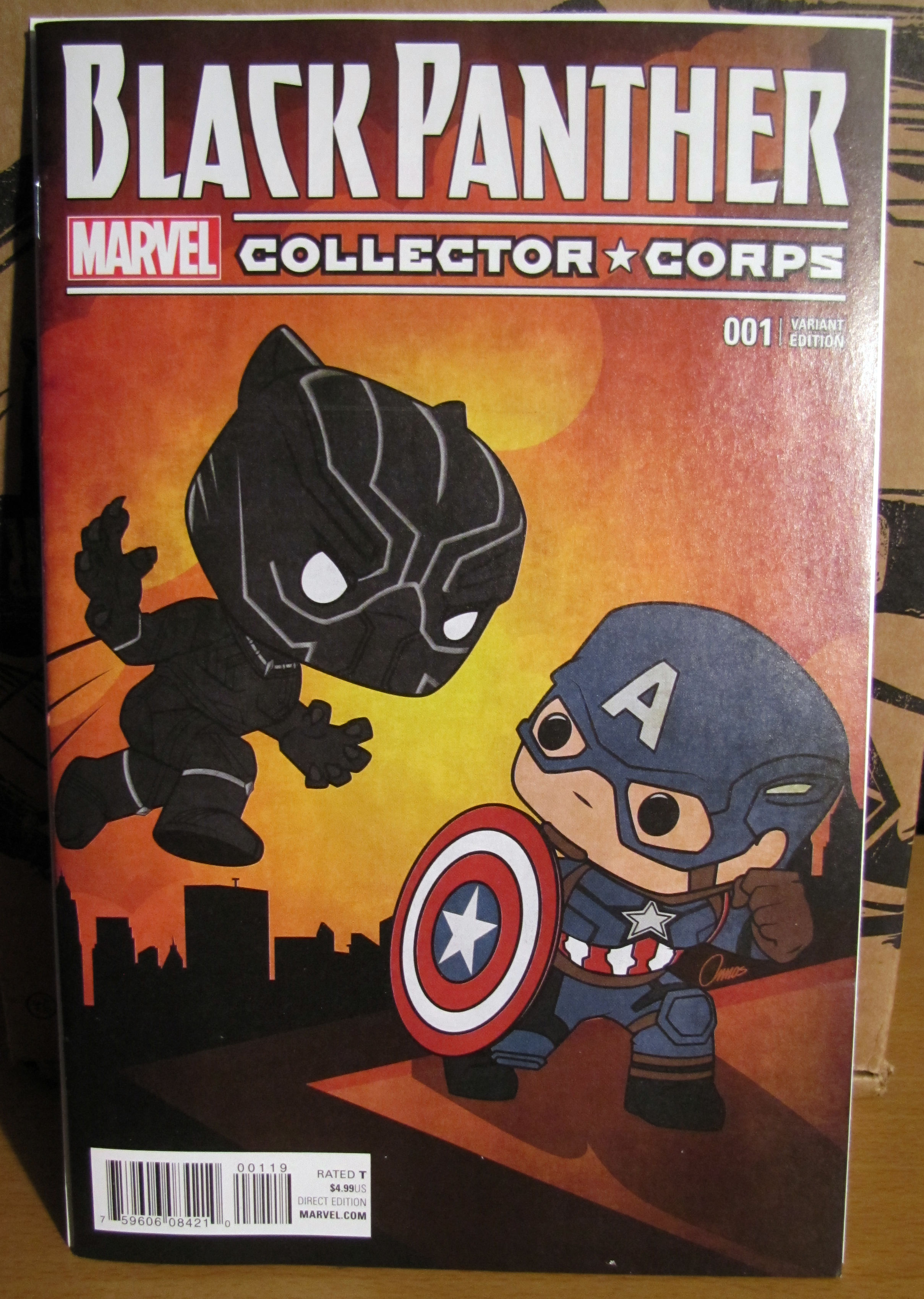 Marvel Collector Corps April 2016 Unboxing