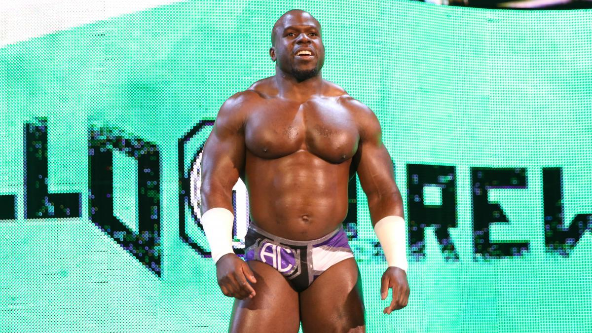 WWE Apollo Crews Smackdown