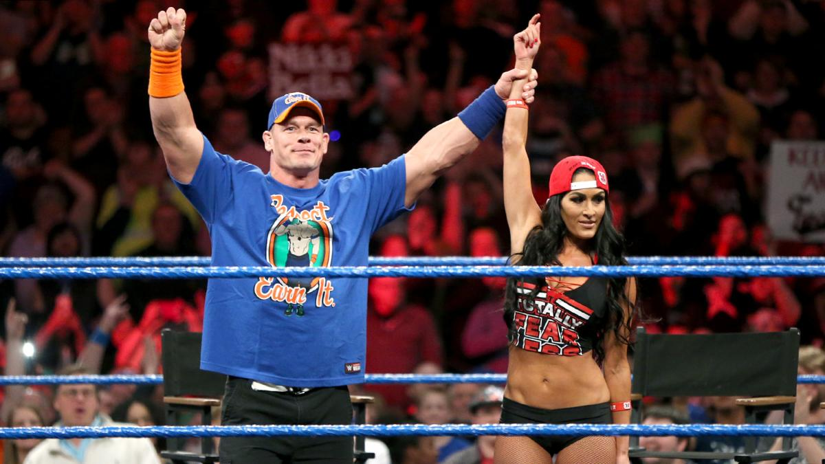 wwe how john cena and nikki bella vs the miz and maryse can exceed expectations. Black Bedroom Furniture Sets. Home Design Ideas