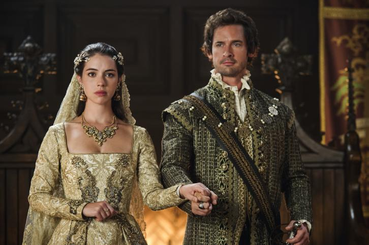 Reign Preview Get Your First Look At Queen Mary S Wedding Gown