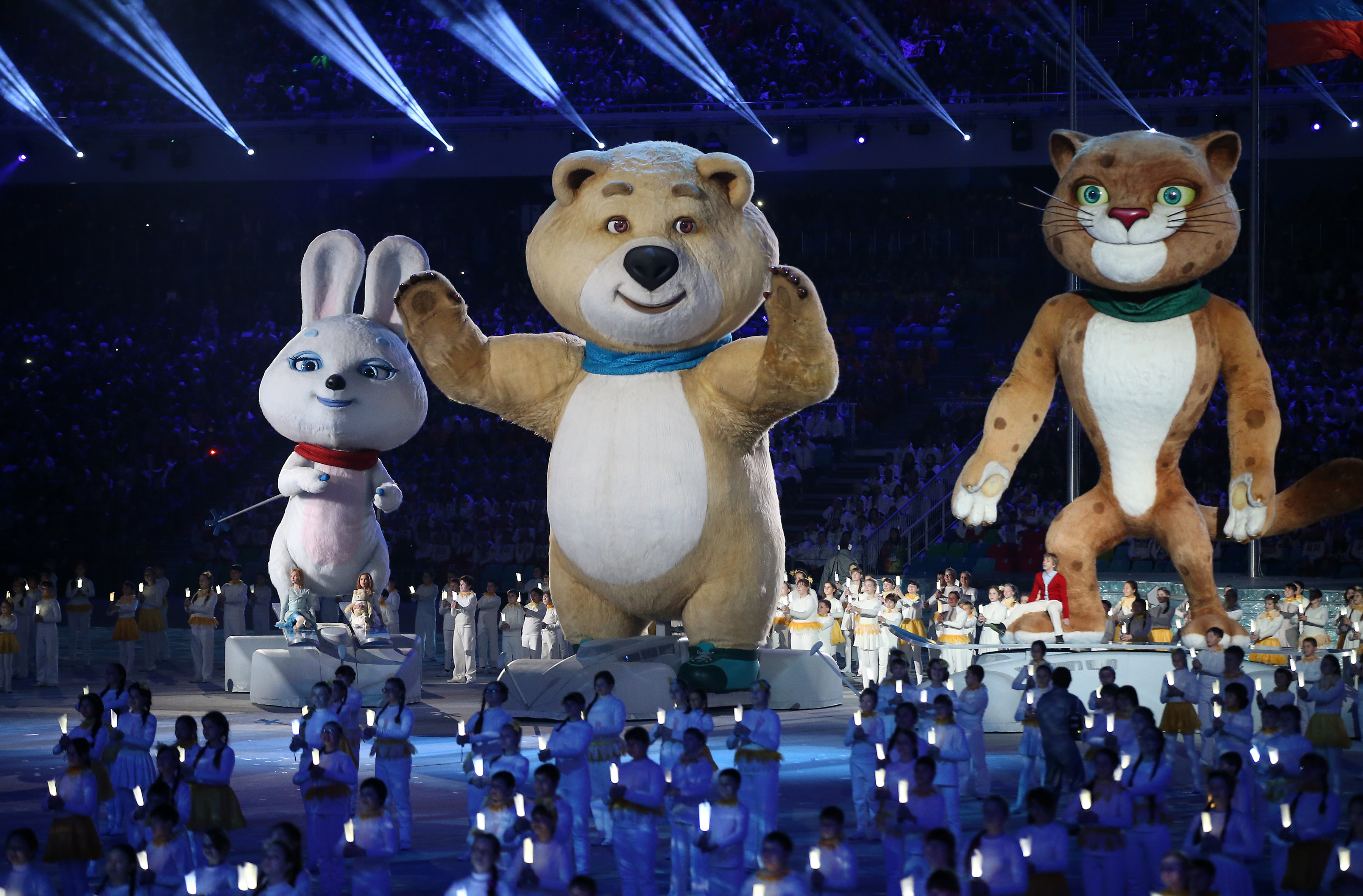 25 Rubles (2014 Winter Olympics, Sochi - Mascots) - Russia ... |Winter Olympics 2014 Mascot Names
